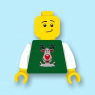 CUS9063 Torso (zonder hoofdje) Foute kersttrui Rendier 1 *0A000