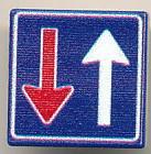 CUSE8190 Tegel MET CLIP Eénrichtingsweg, inrijden toegestaan *0A000