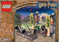 INS4733-G 4733 BOUWBESCHRIJVING- Harry Potter- Dueleer Club gebruikt *