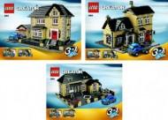 INS4954-G 4954 BOUWBESCHRIJVING- Huis (3 boekjes) gebruikt *LOC M1