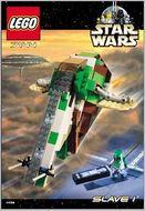 INS7144-G 7144 BOUWBESCHRIJVING- Star Wars- Slave I gebruikt *
