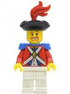 pi089 Imperial Soldier II/ Officier met pluim, bruine baard NIEUW *0M0000