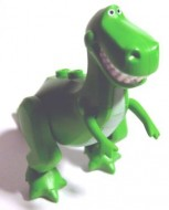 rex TOY STORY- Dino Rex (Toy Story) Groen, helder NIEUW loc