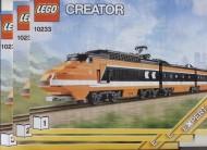 Set 10233 BOUWBESCHRIJVING- Horizon Express NIEUW loc