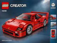 Set 10248 BOUWBESCHRIJVING-  Ferrari F40  NIEUW loc