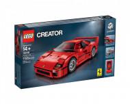 Set 10248-GB Ferrari F40 gebruikt deels gebouwd *B036