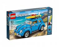 Set 10252-GB Volkswagen Beetle gebruikt deels gebouwd *B036