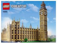 Set 10253 - Sculptures: Big Ben- Nieuw
