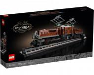 Set 10277-GB Crocodille Locomotive gebruikt deels gebouwd *B036