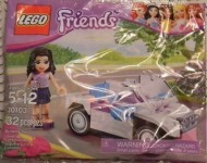 Set 30103-G - Friends: Car (Polybag) H/97%- gebruikt