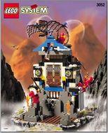 Set 3052 - Ninja: Ninja's Fire Fortress- Nieuw