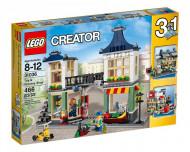 Set 31036-GB Toy&Grocery Shop gebruikt deels gebouwd *B036