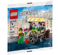 Set 40140 - Creator: Flower Cart (polybag)- Nieuw