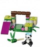 Set 41049-G - Friends: Panda's Bamboo D/H/97%- gebruikt