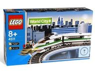 Set 4511 - Treinen: Hogh Speed Train (9V trafo)- Nieuw