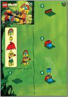Set 5906 BOUWBESCHRIJVING- Ruler of the Jungle  gebruikt loc