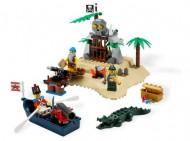 Set 6241-G - Pirates: Soldier's set D/H/C 97-100%- gebruikt