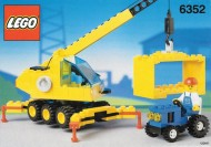 Set 6352 BOUWBESCHRIJVING- Cargomaster Crane  gebruikt loc LOC M2
