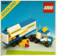 Set 6367 BOUWBESCHRIJVING- Truck Auto gebruikt loc