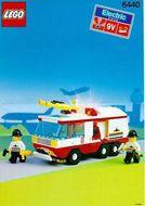 Set 6440 BOUWBESCHRIJVING- Jetport Fire Squad gebruikt loc LOC M2