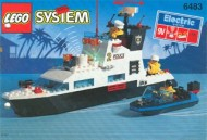 Set 6483 BOUWBESCHRIJVING- Coastal Patrol gebruikt loc LOC M2