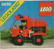 Set 6650 BOUWBESCHRIJVING- Fire and Rescue Van gebruikt loc LOC M3
