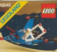 Set 6845 BOUWBESCHRIJVING- Cosmic Charger gebruikt loc LOC M3