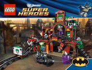 Set 6857 - Super Heroes: The Dynamic Funhouse Escape- Nieuw