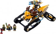 Set 70005 - Legends of Chima: Laval's Royal Fighter zonder doos- gebruikt