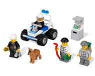 Set 7235-G Police Motorcycle (pakketzending) gebruikt