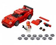 Set 75890-GB Ferrari F40 Competizione gebruikt deels gebouwd *B036