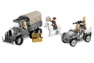 Set 7622 - Indiana Jones: Race of the Stolen Treasure D/H/C 97-100%- gebruikt