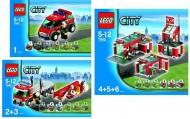 Set 7945 BOUWBESCHRIJVING- Fire Station gebruikt loc
