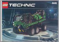 Set 8446 BOUWBESCHRIJVING- Crane Truck Technic gebruikt loc