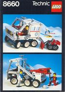 Set 8640 BOUWBESCHRIJVING- Arctic Rescue Unit  gebruikt loc