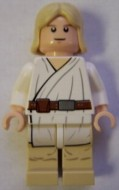 sw273 MINIPROMO Star Wars: Luke Skywalker (wit pak) NIEUW loc