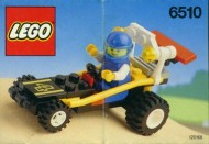 Set 6510 BOUWBESCHRIJVING- Mud Racer gebruikt loc LOC M2