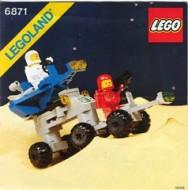 Set 6871 BOUWBESCHRIJVING- Star Patrol Launcher gebruikt loc LOC M3