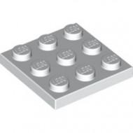 11212-1 Platte plaat 3x3 wit NIEUW *5K0000