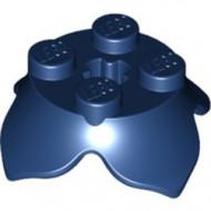 15469-63 Bloem 2x2 blauw, donker NIEUW *0D031