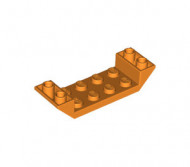 22889-4 Omgekeerde dakpan 45 graden 2x6 dubbel met 2x4 uitsnede oranje NIEUW *1B000