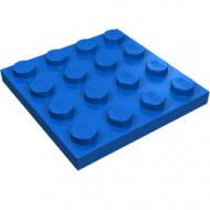3031-7 Platte plaat 4x4 blauw NIEUW *5K0000