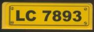 30413pb009-3G Paneel 1x4 LC 7893 Geel grbruikt loc