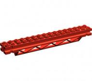 30518-5 Horizontale ondersteuning 2x16x2 driehoek rood NIEUW *2B071