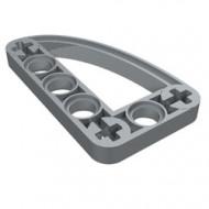 32250-66 Technic, Hefbalk 3x5 met kwart elipse (raam) grijs, lichtparel NIEUW *1D000