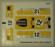 40193stk01 STICKER Ferrari 512 S NIEUW loc