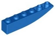 42023-7 Omgekeerde dakpan 6x1 rond blauw NIEUW *1B000