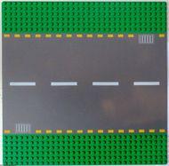 44336pb01-6G Wegenplaat 32x32 recht groen gebruikt *3K000