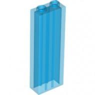 46212-14 Steen 1x2x5 transparant donkerblauw NIEUW *5K0000