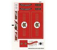 4841stk01 STICKER Harry Potter- Hogwarts Express (3e editie) NIEUW *0S0000